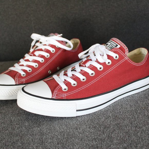 Converse Chuck Taylor All Stars Low Top, Brick Red